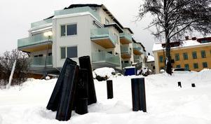 Strandskolans två sidobyggnader blev inflyttningsklara nu i januari.
