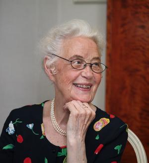 Anna-Lena Windén har avlidit i en ålder av 98 år. Foto: Jan Gabrielsson.