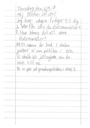 Isaks brev