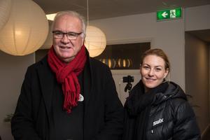 Även Geir Bergström och Linda Eriksson från Synsam hade vägarna förbi.
