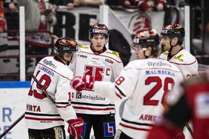 Örebro kunde jubla till slut – är klart för slutspel trots förlust. Bild: Avdo Bilkanovic/Bildbyrån
