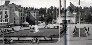 Den stora konstutställningen på Viksäng 1929.