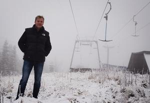 Lars Forsberg, resort – och hotelldirektör vid Hassela ski resort. Foto: Arkiv/Therese Nilsson