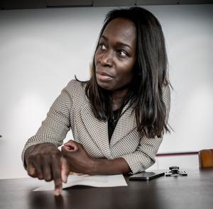 Liberalernas partiledare Nyamko Sabuni vill se en moderniserad LAS, något den svenska fackrörelsen motsätter sig.