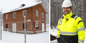 Nu får centrum fräschare vatten – Gästrike Vatten investerar runt 20 miljoner kronor i Ockelbo. Bilden är ett montage.