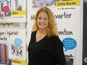 Cathrine Holgersson, vd på Gavlegårdarna.