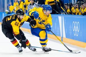 Erik Gustafsson var inne på det matchavgörande målet. Bild: Joel Marklund/Bildbyrån