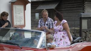 Svenska kyrkan i Rättvik bjöd in till drive-in-vigslar och dop.