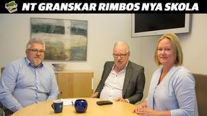 Kenneth Eriksson, biträdande samhällsbyggnadsdirektör Norrtälje kommun, Olle Jansson (S) och Ulrika Falk (S).