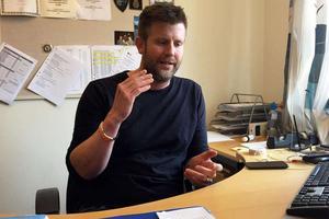 Polisutredare Lars Dahlberg vid Salapolisen säger att den utpressade företagaren lämnat mycket trovärdiga uppgifter.
