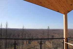 Så här ser utsikten ut ifrån tornet.