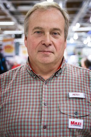 Peter Berglund har varit Ica-handlare i 30 år.