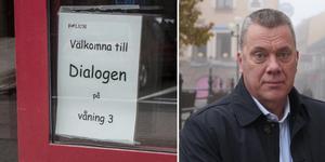 Förvaltningen ser att det här går att göra, säger Anders Lind (M), om neddragningen på Dialogen.