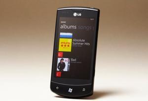 LG Optimus7 musik