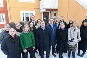 Sveriges regerings (bilden) förslag stöter på patrull hos Lagrådet.