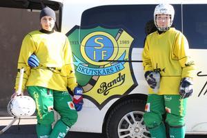 Tatiana Gurinchik och Olga Rodionova ska ta hem ytterligare ett guld till Skutskär.