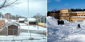 Granloholms skola och Sticksjö skola. Arkivbilder