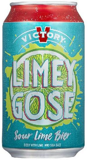 Limey Gose Victory Brewing Company.