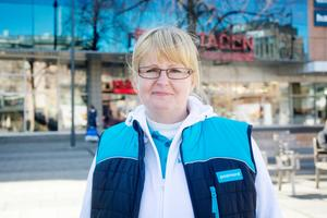 Katarina Sörman, distributionsområdeschef  i området Gästrikland, Dalarna och norra Uppland.