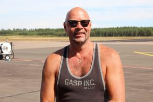 Jyrki Lajne kan inte minnas när han först blev intresserad av flygplan.