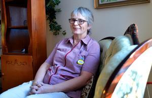 Kerstin Norman har nyligen gått i förtida pension, men hon skulle gärna komma tillbaka till den tjänst hon hade förut.
