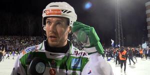 Ted Bergström, besviken efter förlusten mot Villa.