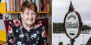 Norbergsbon Sonja Karlsson är anledningen till att Ängelsberg har ett bibliotek.