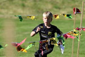 Samuel Svensson, Söderhamns OK tog en trippel i H10 i helgen. Han vann natt-, sprint- och medel-DMFotograf: Petra Pavlovska