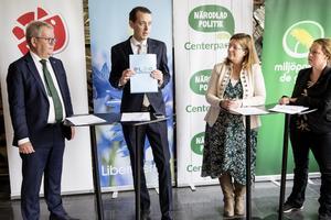 Replik från Liberalerna om nya styret i Västerås.                              Foto: Kenneth Hudd