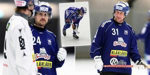 Johan Sixtensson (till höger) var inte nöjd med Martin Johanssons