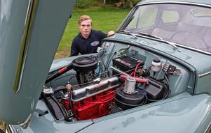 Hampus Granström har bland annat bytt motor – från en B20 till original B18.