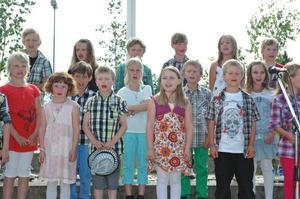 PIPPIS SOMMARVISA. Eleverna i förskoleklassen sjöng