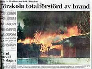Klipp ur GD den 11 april 1993.