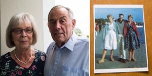 Yvonne Nordlander och Peter Lundberg möttes i Stockholm 1959, bytte adresser och blev brevvänner i flera år.  40 år senare möts de igen efter ett julkort från Peter.