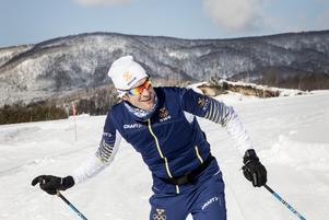 Johan Granath är en av landslagsledarna som är på plats i Vuokatti för vinterns premiärhelg i skandinaviska cupen. Foto: Christine Olsson/TT