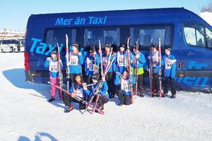 I söndags åkte samtliga elever i årskurserna 4-6 i Ljungdalens skola Ungdomsvasan mellan Eldris och Mora.Foto: Anneli Johanson Back