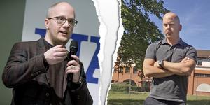 Kenneth Nilsson (S) och Patrik Jämtvall (L) är inte överens om det som har hänt på tekniska förvaltningen.