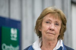 """""""Jag ser fram emot att yngre krafter tar över när jag inte orkar längre"""", säger 78-åriga Harriet Danielsson."""