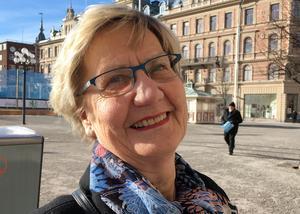 Margareta Johansson, 76 år, pensionär, Sundsvall