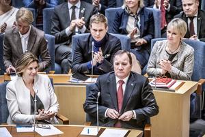 Den 18 januari är det precis ett år sedan Stefan Löfven valdes till statsminister.