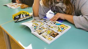 Förlaget Egmont ville få skolan att satsa på serier för att främja läsförståelsen, vilket bland annat Augustenborgsskolan i Malmö nappade på 2013. Då blev det Kalle Anka-läsning i samband med svenskundervisningen.