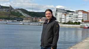 Linus Ullmark på hemmaplan i Örnsköldsvik.
