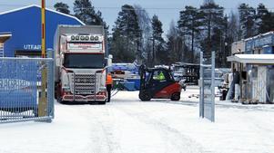 Logistiken är ett av problemen vid nuvarande byggvaruhus.