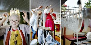 Ljusstöpning är bra för självkänslan, säger Louise Ström.