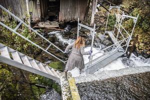 Att nyttja den vattenkraft som kvarnen en gång tagit ur fallet mellan Kougstasjön och Klukstjärn är inte aktuellt.