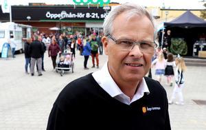 Kulturchef Peter Gunnarsson var inte allt för uppstressad trots en späckad arbetskväll framför sig.