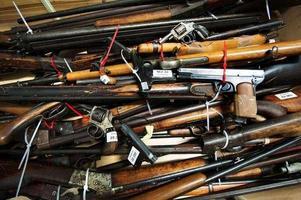 Bild: Klockar Mattias Nääs.1 februari till 30 april kan man lämna in vapen och ammunition som man inte har licens för.