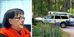 Pia Åsberg åtalade transportchefen som hon anser bär huvudansvaret för att morddömde Kristofers Kastellanoss lyckades fly.
