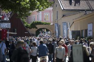 Över 40 000 besökare väntas, men det är inte mycket Jämtland att välja på. Foto: Henrik Montgomery / TT