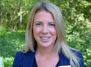 Fastighetsmäklaren Amanda Allernäs hoppas kunna säkra ytterligare ett bokningsavtal under den här veckan.